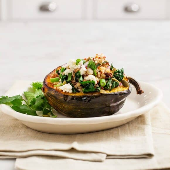 Quinoa stuffed acorn squash Recipe - Love and Lemons