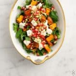 Sweet Potato &amp; Pomegranate Salad // loveandlemons.com