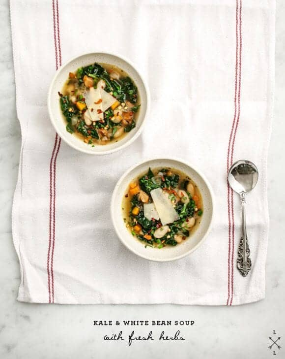 Kale & White Bean Soup // Love & Lemons