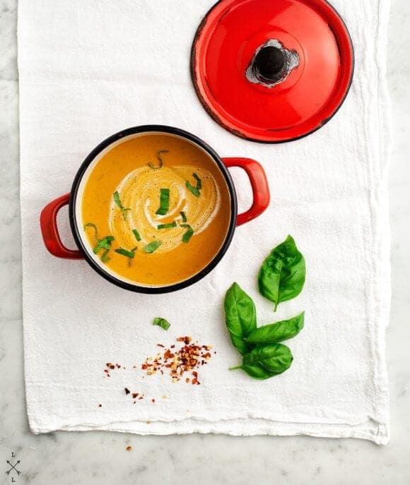 Creamy (vegan) Tomato Soup  // Love & Lemons