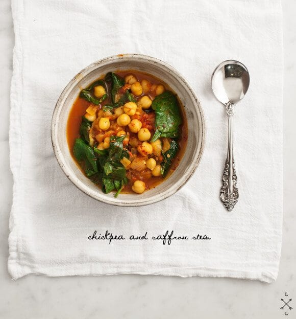 Chickpea &amp; Saffron Stew // loveandlemons.com
