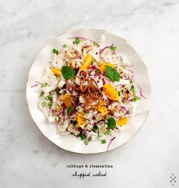 Asian Clementine &amp; Cabbage Salad / loveandlemons.com