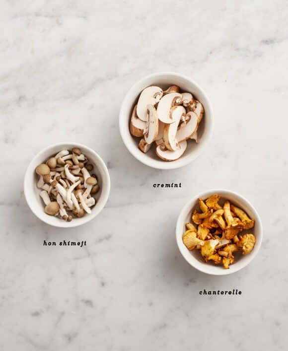 mushroom & wheatberry sautee // loveandlemons.com