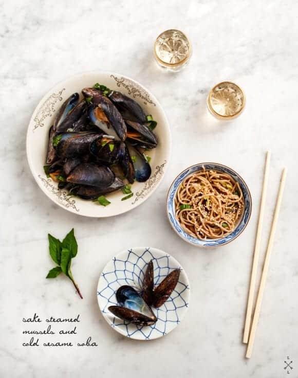 Sake-steamed Mussels Recipe - Love and Lemons