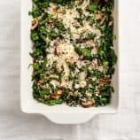 swiss chard &amp; egg casserole