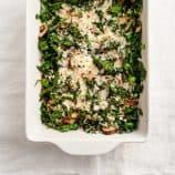 swiss chard & egg casserole