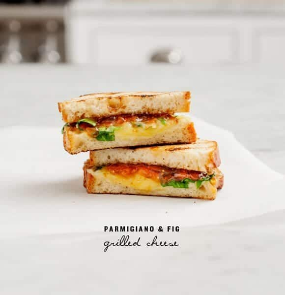 parmigiano &amp; fig grilled cheese / loveandlemons.com