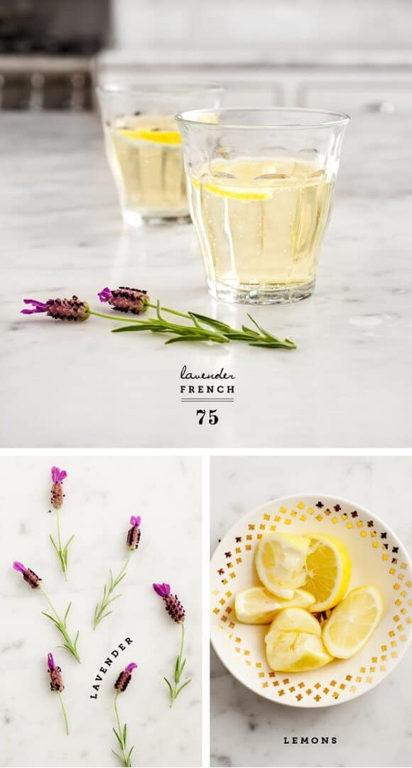 Lavender French 75 Recipe - Love and Lemons