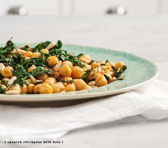 spanish chickpeas with kale / loveandlemons.com