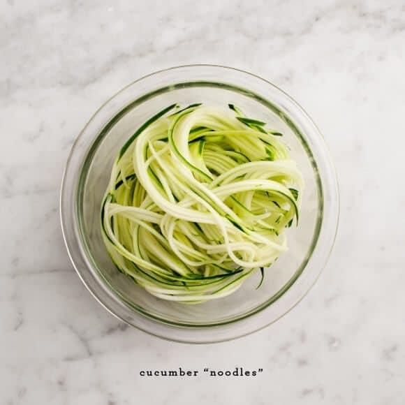 Cold Cucumber Soba / loveandlemons.com
