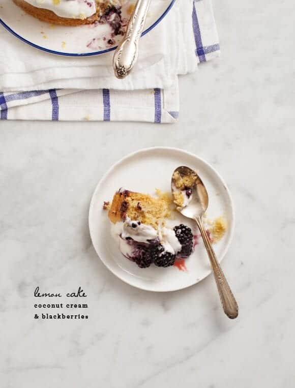 blackberry lemon cake // loveandlemons.com