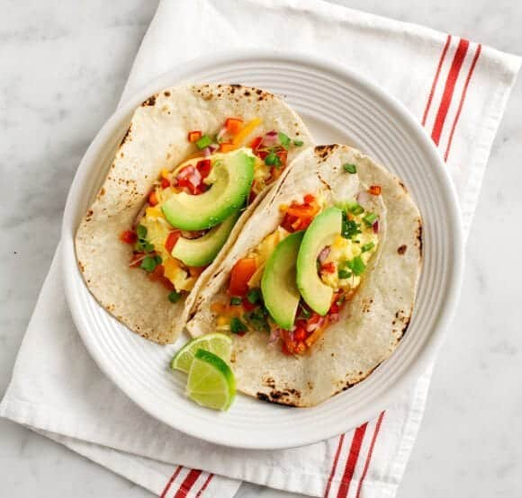 migas breakfast tacos / loveandlemons.com