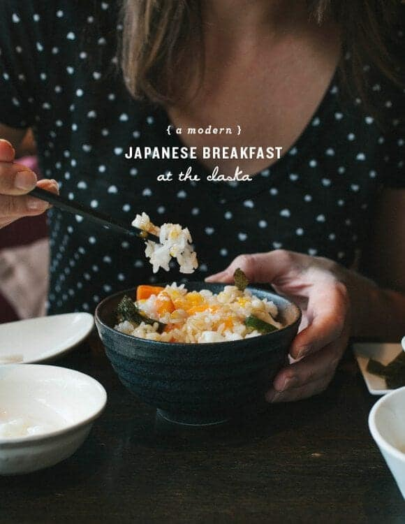 a japanese breakfast // loveandlemons.com