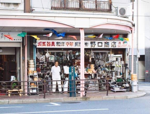 kappabashi kitchen town, tokyo