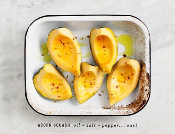 stuffed acorn squash / loveandlemons.com