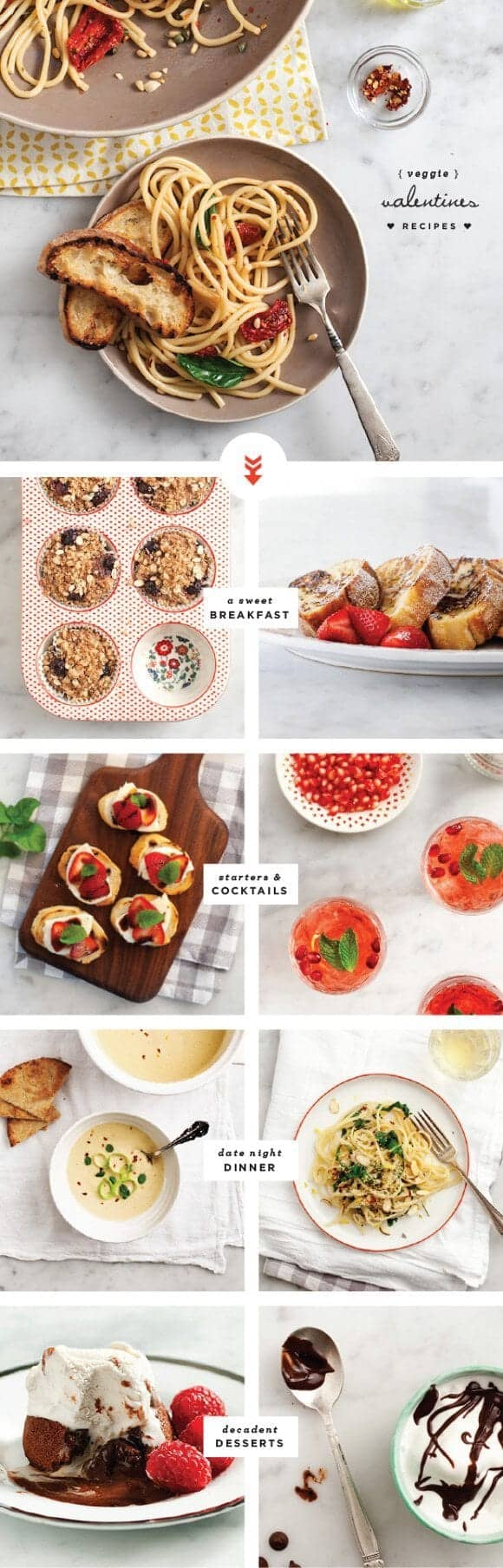 veggie valentines recipes / @loveandlemons