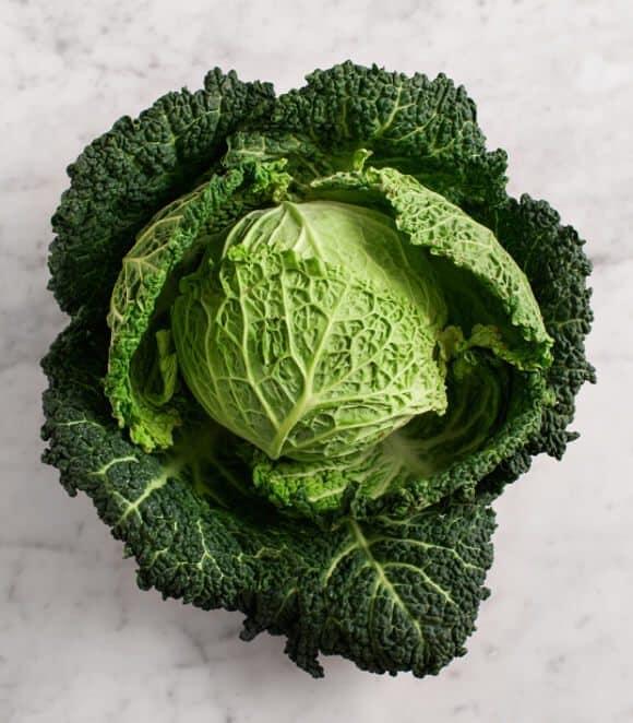 vegan ricotta stuffed cabbage (grain free & gluten free) / loveandlemons.com