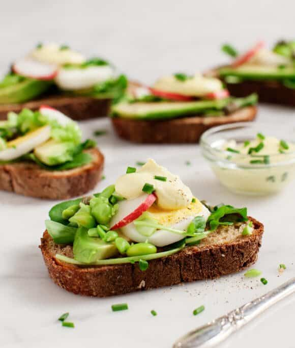avocado almondaise tartines / loveandlemons.com
