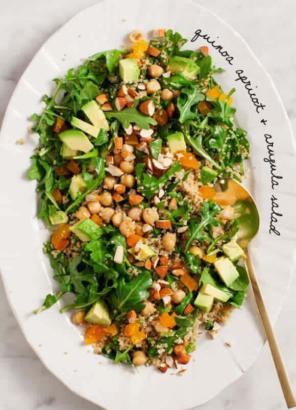 quinoa apricot & arugula salad / loveandlemons.com