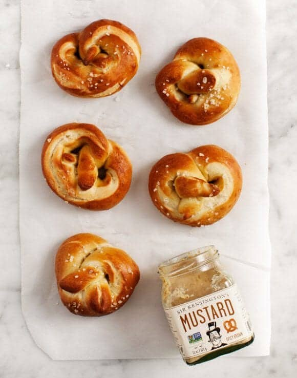 ... one near and dear to my heart – big, doughy, german-style pretzels