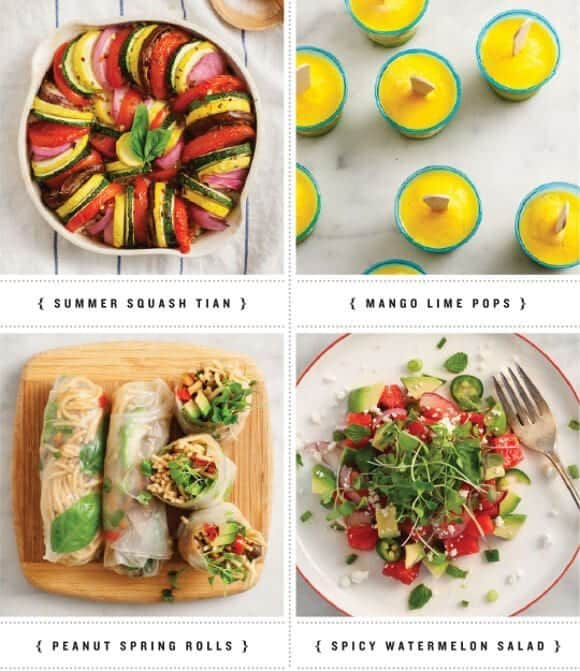 summer veggie recipes / loveandlemons.com