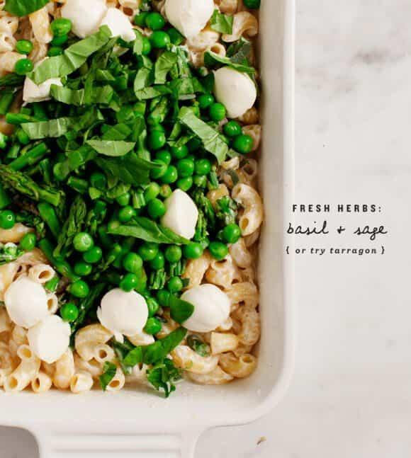 mostly veggie baked macaroni / loveandlemons.com