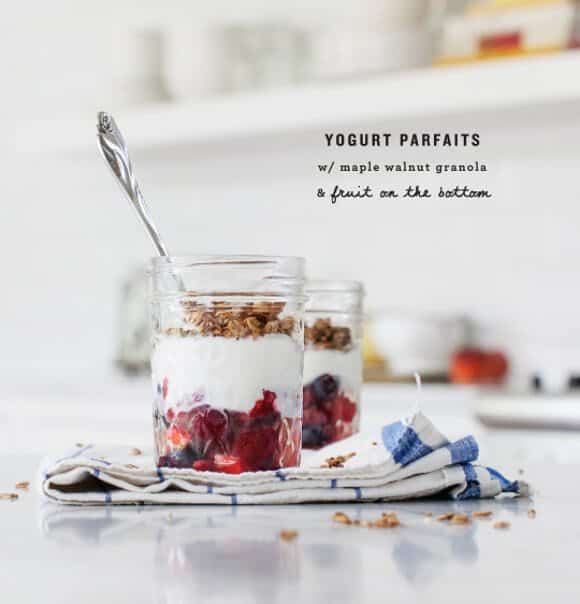 maple walnut granola parfaits / www.loveandlemons.com #vegan #glutenfree