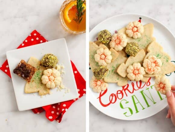 Cookie Swap Holiday Decor / Love & Lemons + Crate & Barrel