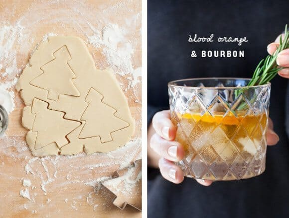 Cookies & Cocktails w/ Holiday Drinkware