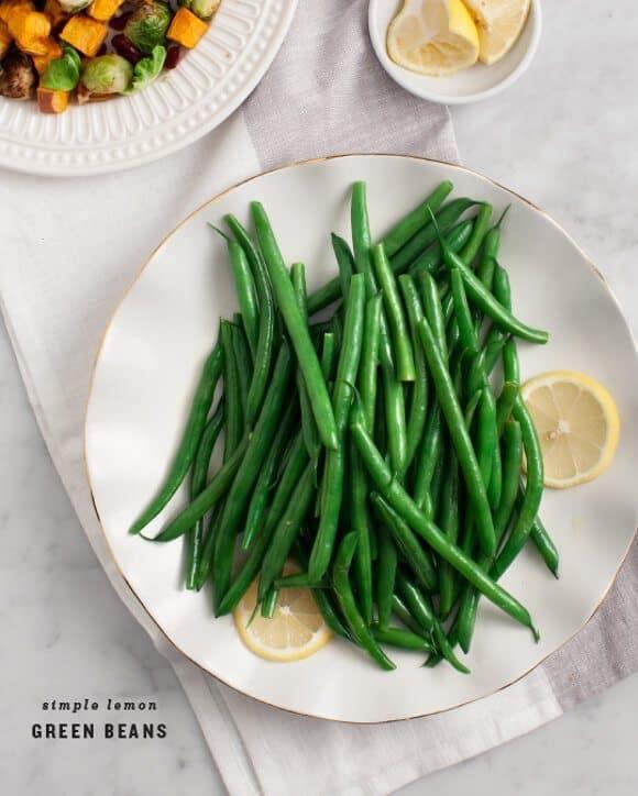 Simple Lemon Green Beans Recipe - Love and Lemons
