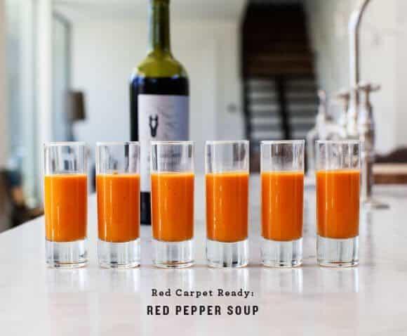 Roasted Red Pepper Soup / loveandlemons.com