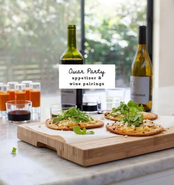 Oscar Party Appetizer & Wine Pairings / loveandlemons.com
