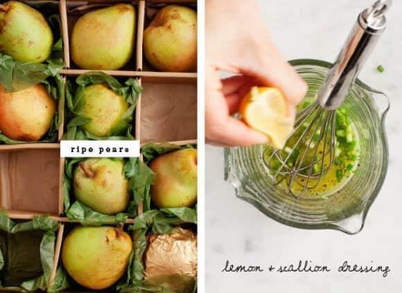 Pear & Arugula Chickpea Salad / www.loveandlemons.com