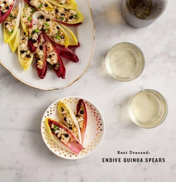 Endive Spears w/ Quinoa Salad / loveandlemons.com