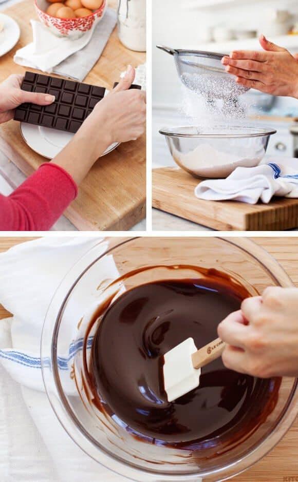 Valentine's Molten Chocolate Cakes / loveandlemons.com