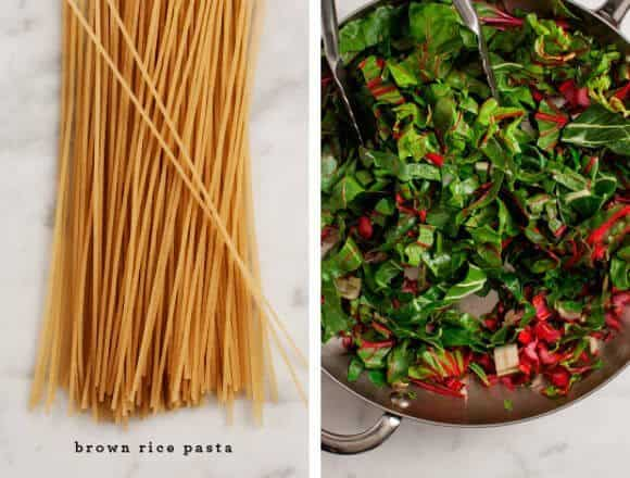 Simple Swiss Chard Pasta / loveandlemons.com