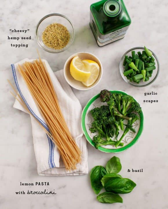 Lemon Broccoli Pasta / loveandlemons.com