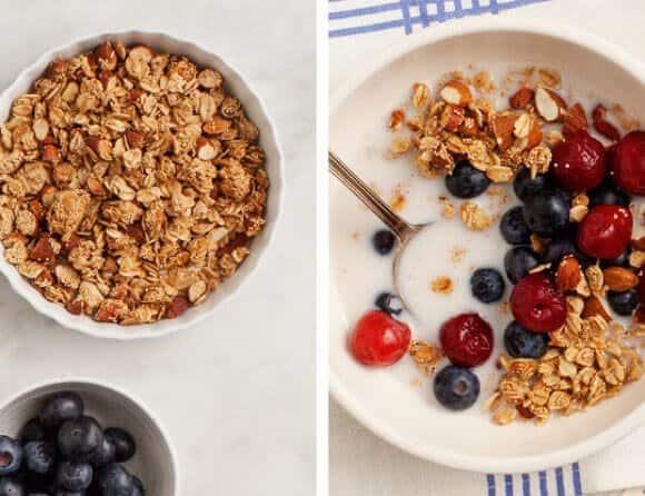 Breakfast Bowl with Amaranth Granola / loveandlemons.com