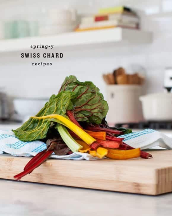 Spring-y Swiss Chard Recipes / @loveandlemons