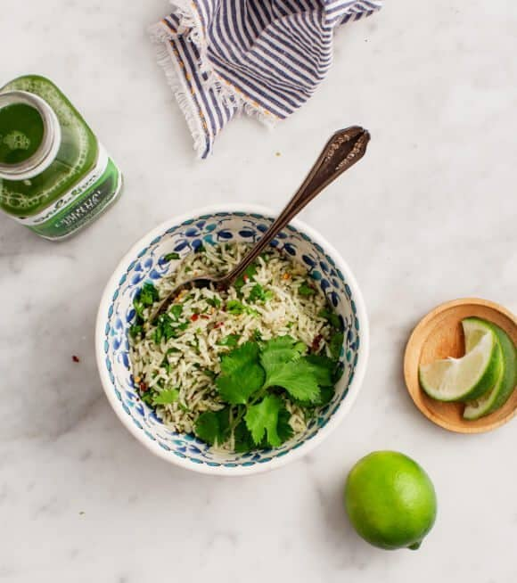 Green Rice with Lime / loveandlemons.com