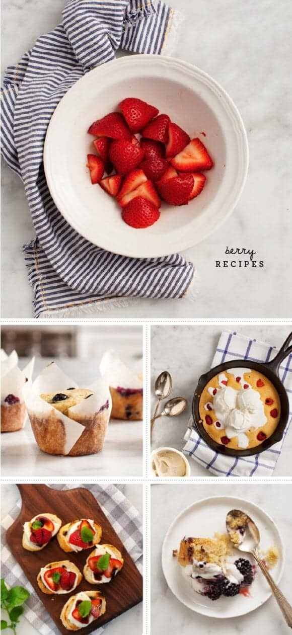 Berry Recipes / loveandlemons.com