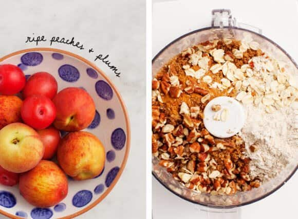 Peach & Plum Crumble / loveandlemons.com