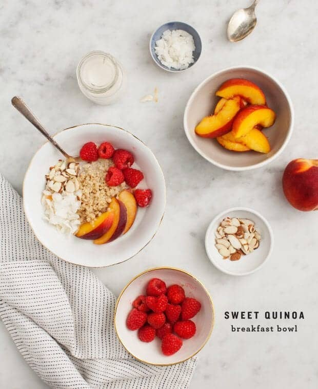 Cinnamon Quinoa Breakfast Bowl / loveandlemons.com