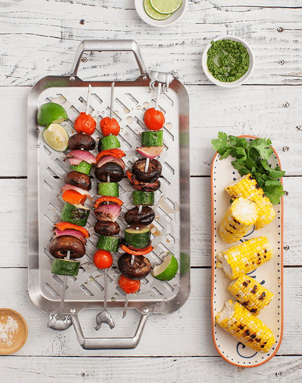 Healthy Vegetarian Grilling Recipes / loveandlemons.com