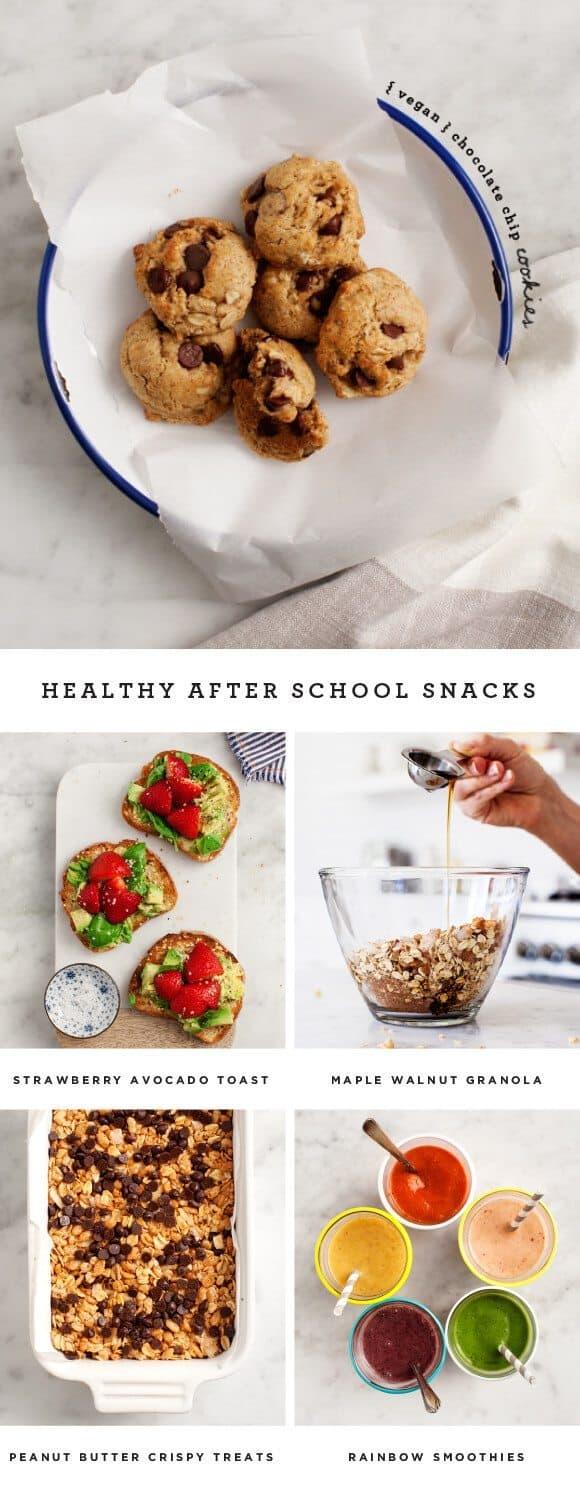 Healthy After School Snacks / @loveandlemons