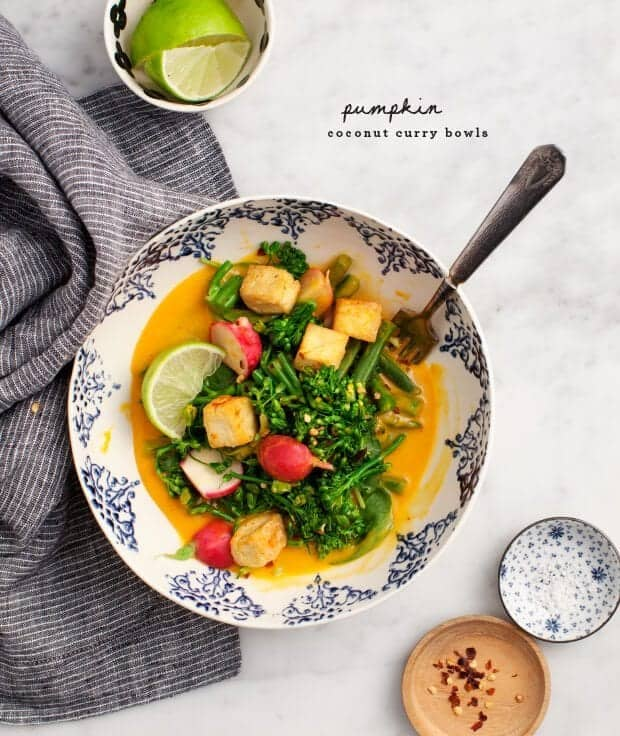 Pumpkin Coconut Curry Bowls / loveandlemons.com