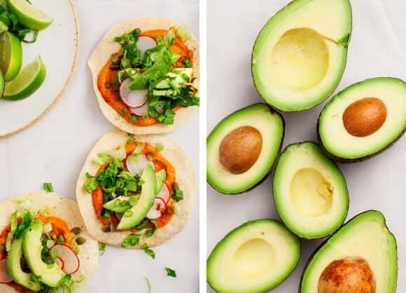 Pumpkin & Avocado Tostadas / loveandlemons.com