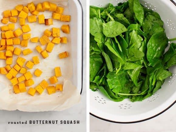 Vegan Butternut Squash Stuffed Shells / loveandlemons.com