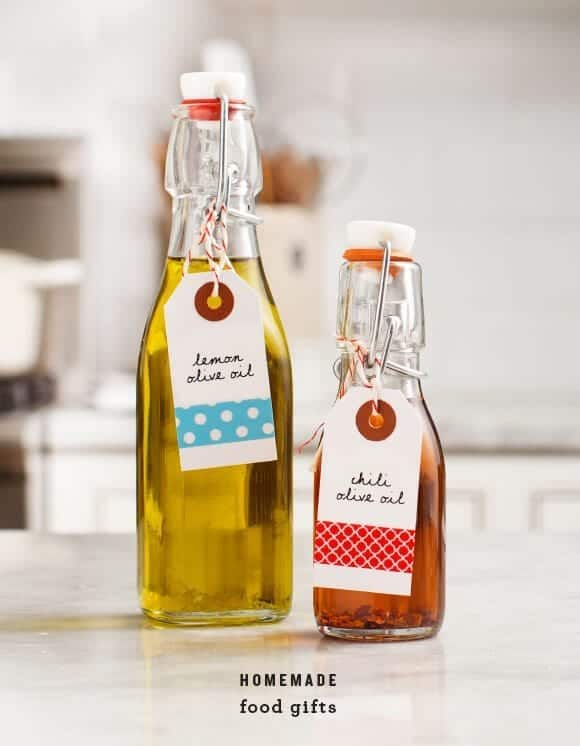 Infused Olive Oils  - make & give as homemade gifts!  @loveandlemons