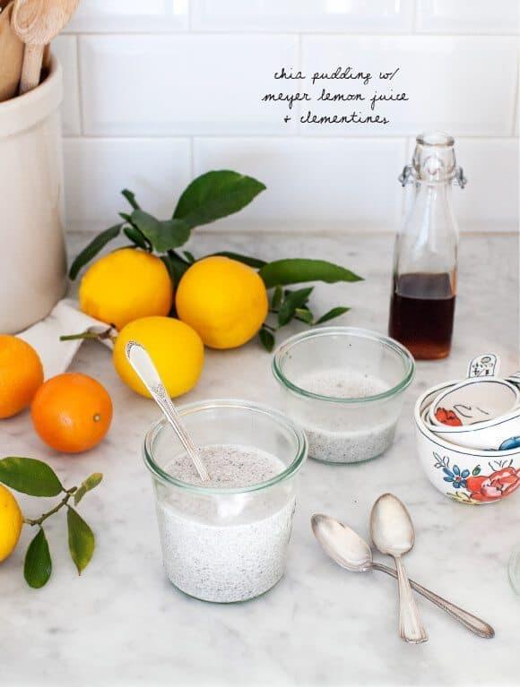 Sunshine Citrus Chia Bowls
